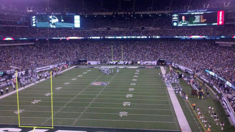 Seating view for MetLife Stadium Section 224a Row 5 Seat 10
