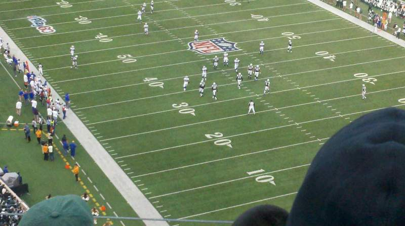 Seating view for MetLife Stadium Section 329 Row 15 Seat 20