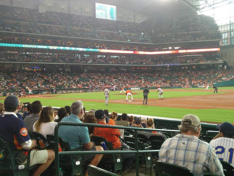 Seating view for Minute Maid Park Section 128 Row 10 Seat 3
