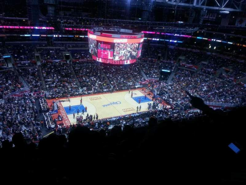 Seating view for Staples Center Section 303 Row 12 Seat 10