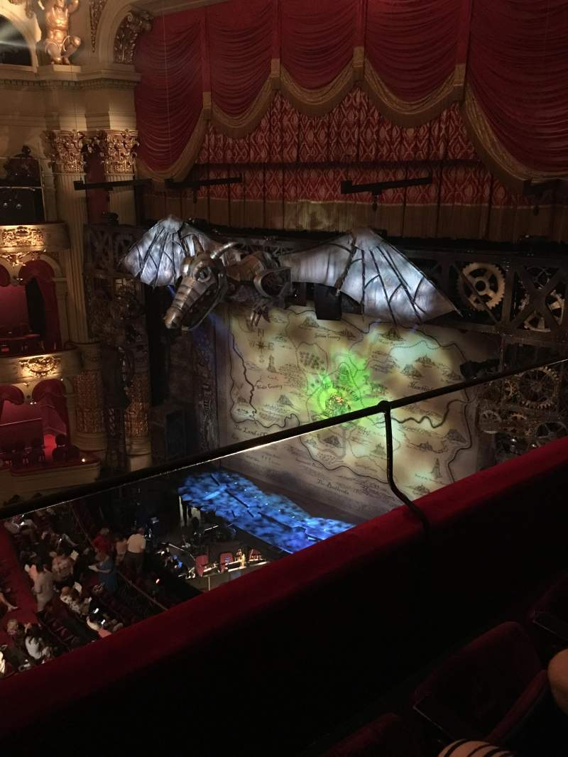 Seating view for Academy of Music Section Family Circle B Row B Seat 42