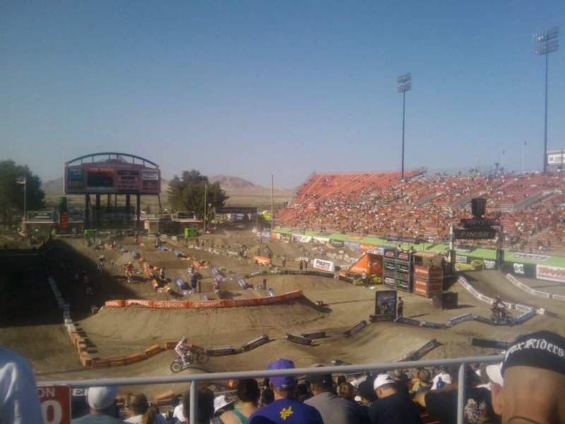 Seating view for Sam Boyd Stadium Section 222 Row 24 Seat 18