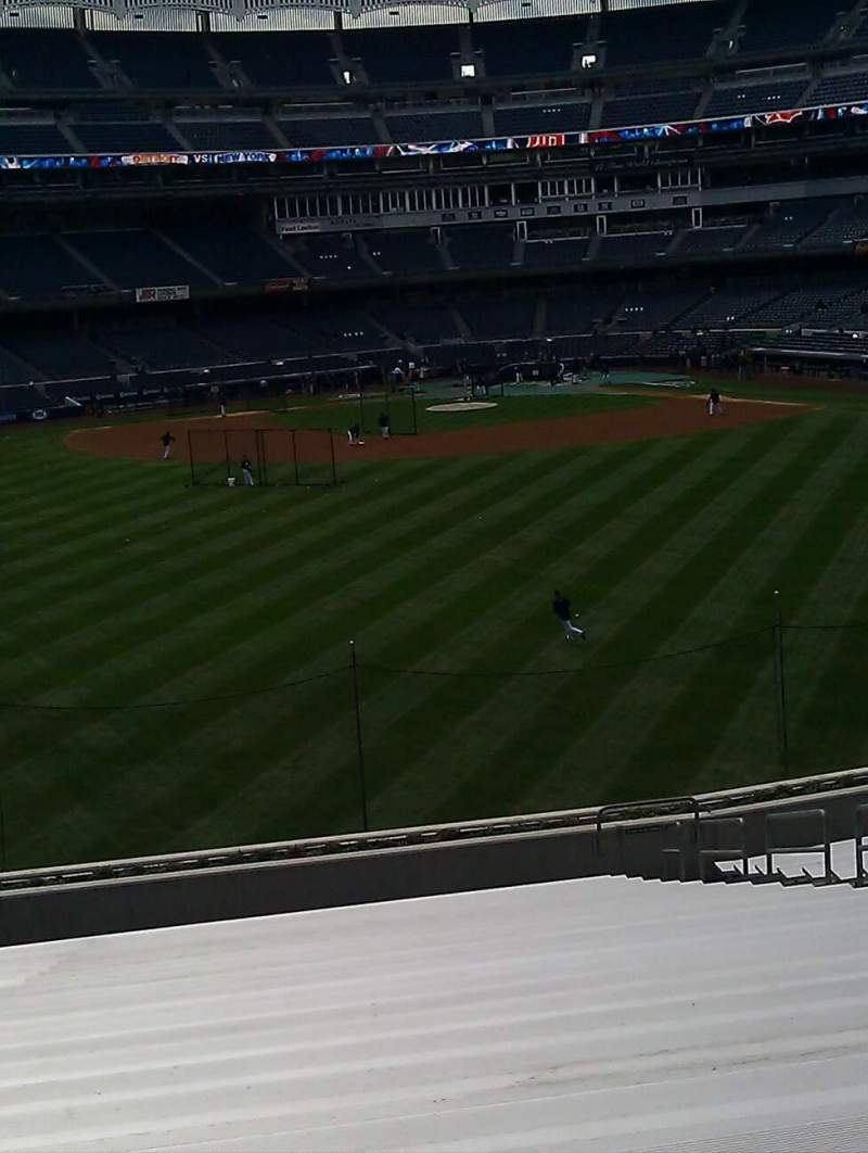 Seating view for Yankee Stadium