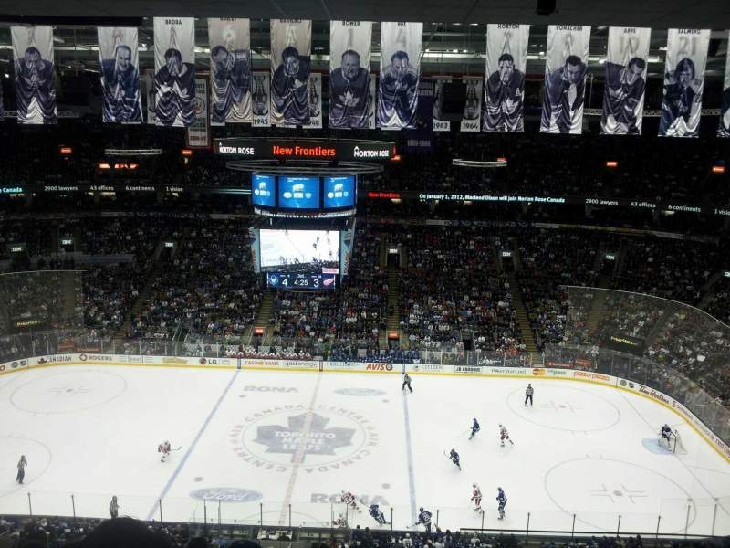 Seating view for Air Canada Centre