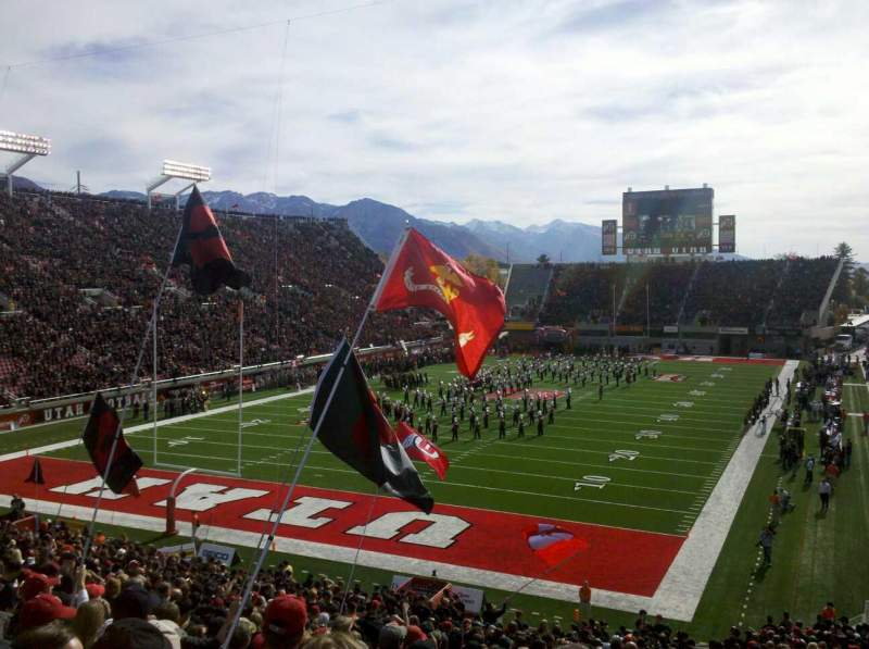 Seating view for Rice-Eccles Stadium Section N22