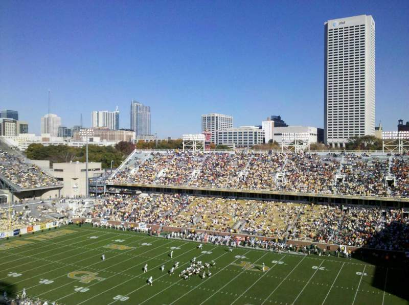 Seating view for Bobby Dodd Stadium