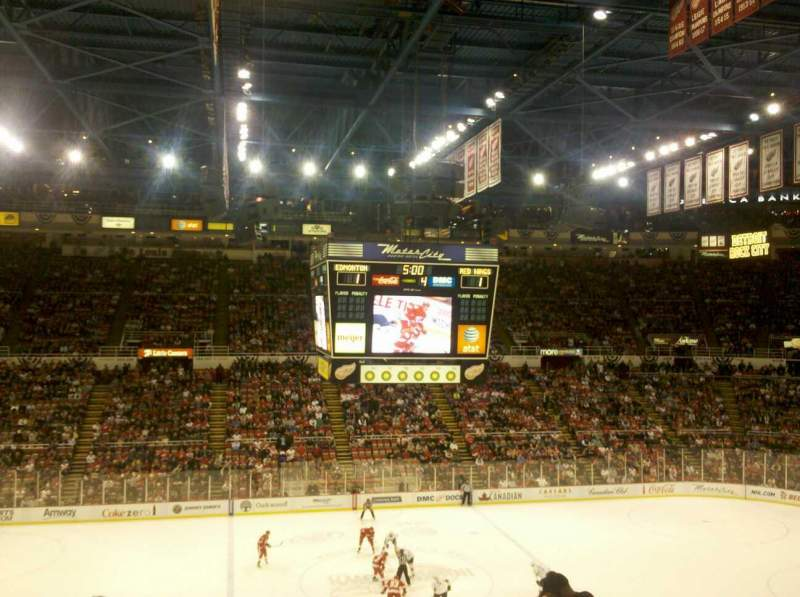 Seating view for Joe Louis Arena