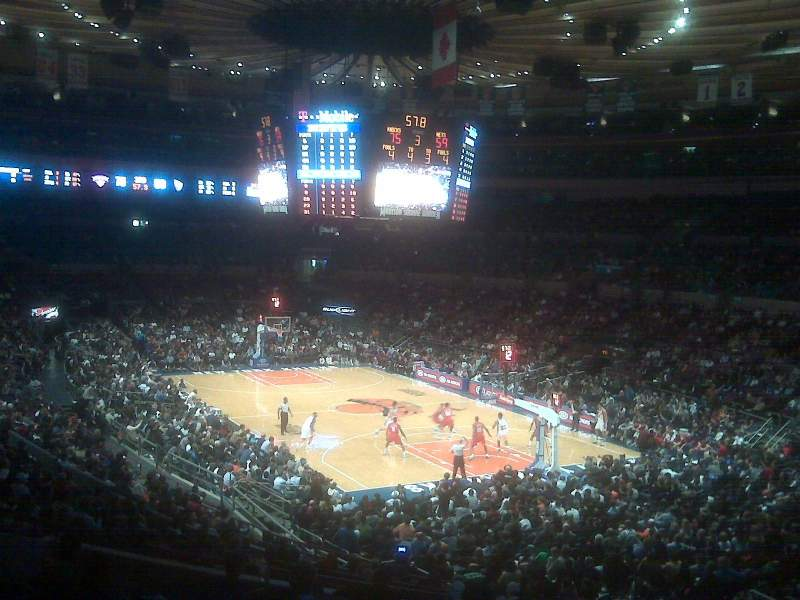 Seating view for Madison Square Garden Section 120