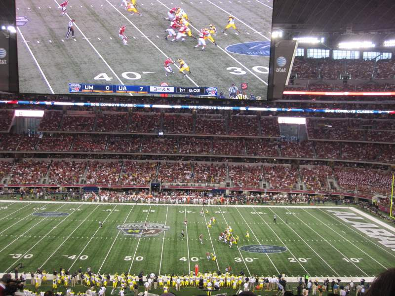Seating view for AT&T Stadium Section C336 Row 11 Seat 13