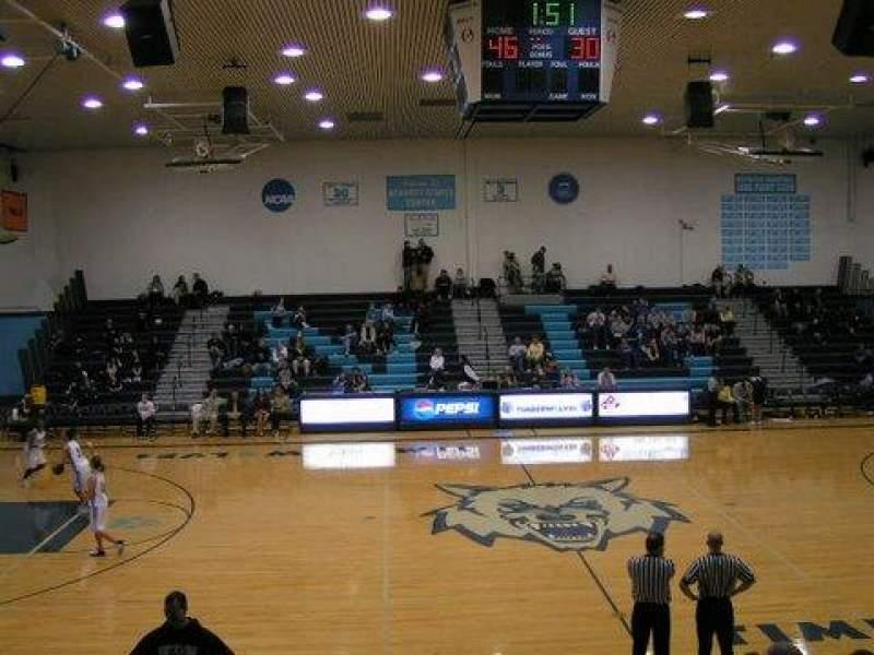Seating view for Bennett Center Section GA