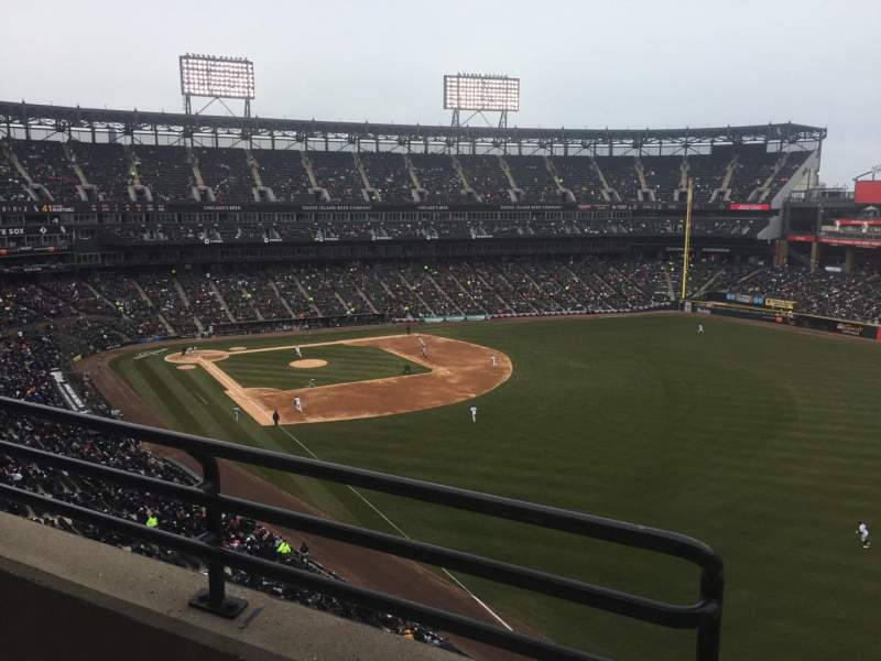 Guaranteed Rate Field, section: 509, row: 2, seat: 8