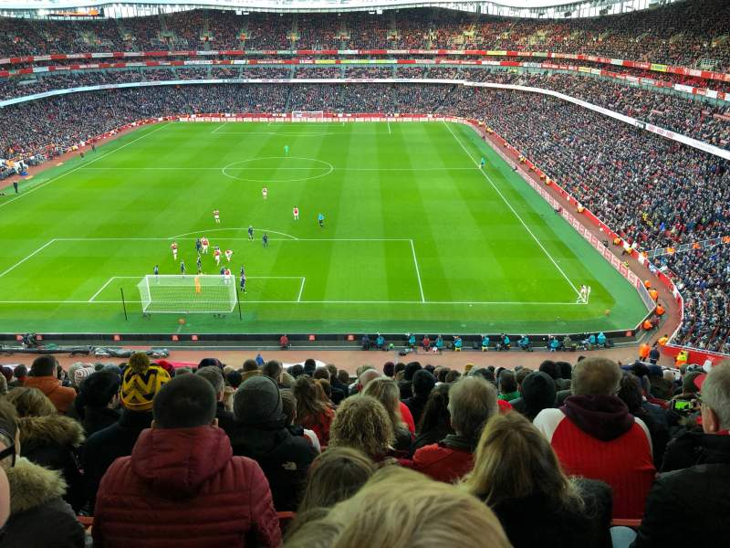 Seating view for Emirates Stadium Section 123 Row 14 Seat 880
