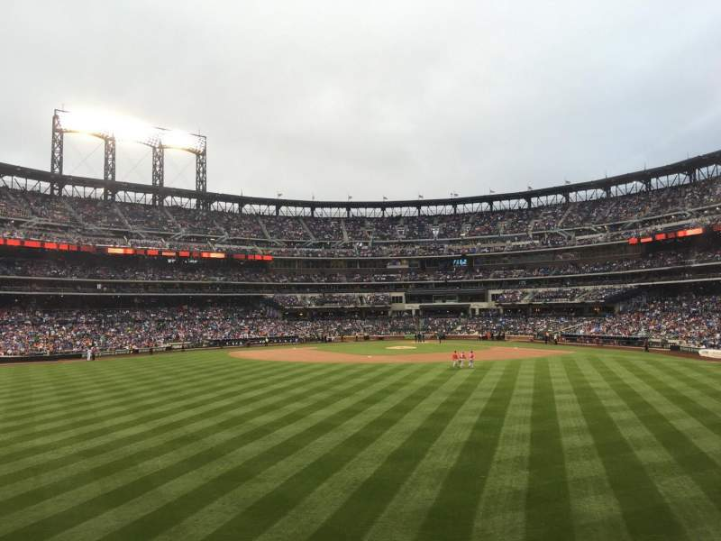 Seating view for Citi Field Section 138 Row 2 Seat 17