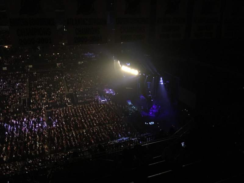 Prudential Center, section: 212, row: 6, seat: 12