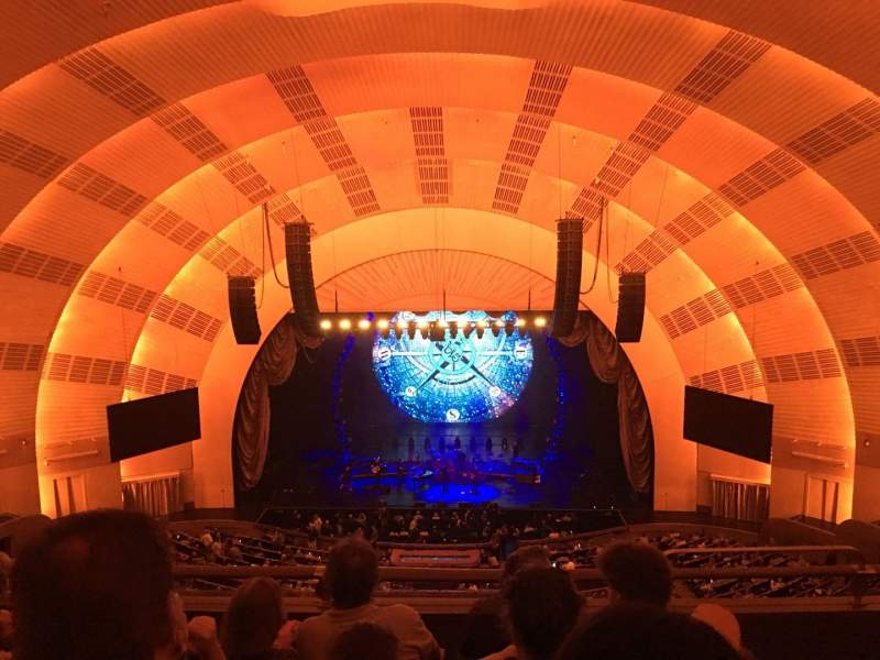 Seating view for Radio City Music Hall Section 401 Row D Seat 402