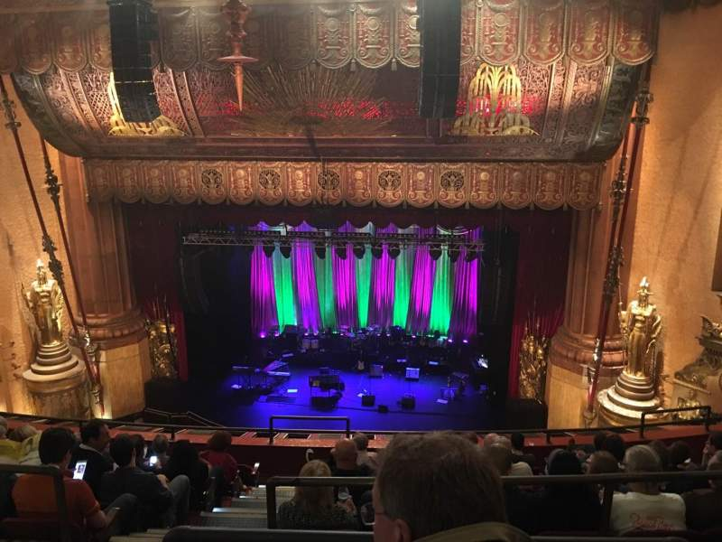 Seating view for Beacon Theatre Section UBALC2 Row G Seat 4