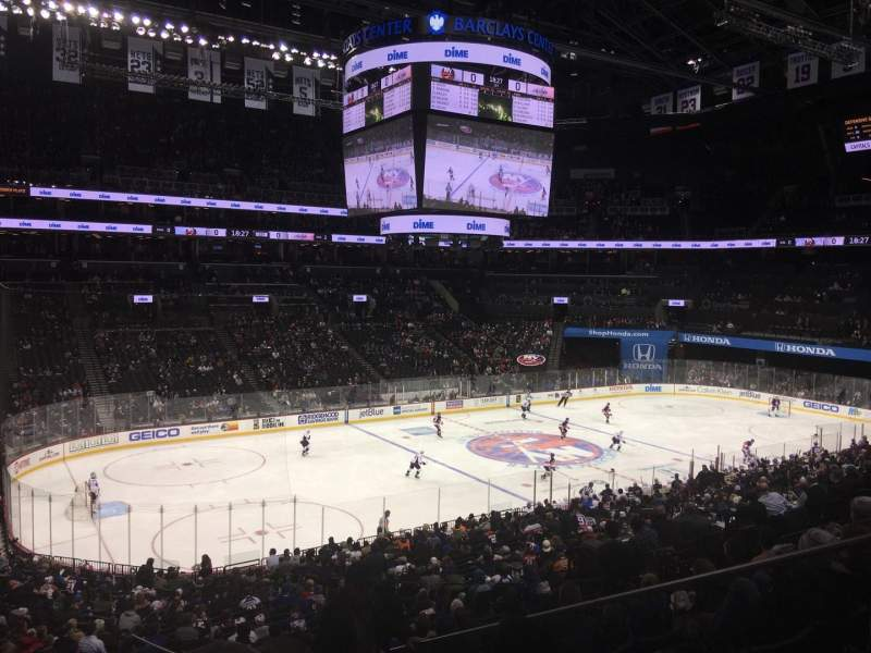 Seating view for Barclays Center Section 111 Row 9 Seat 5