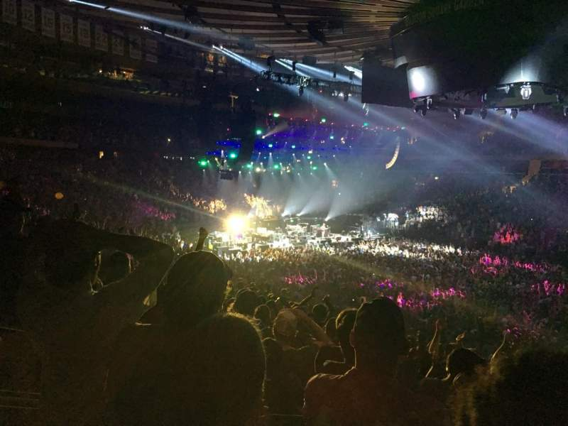 Madison Square Garden, section: 119, row: 22, seat: 8