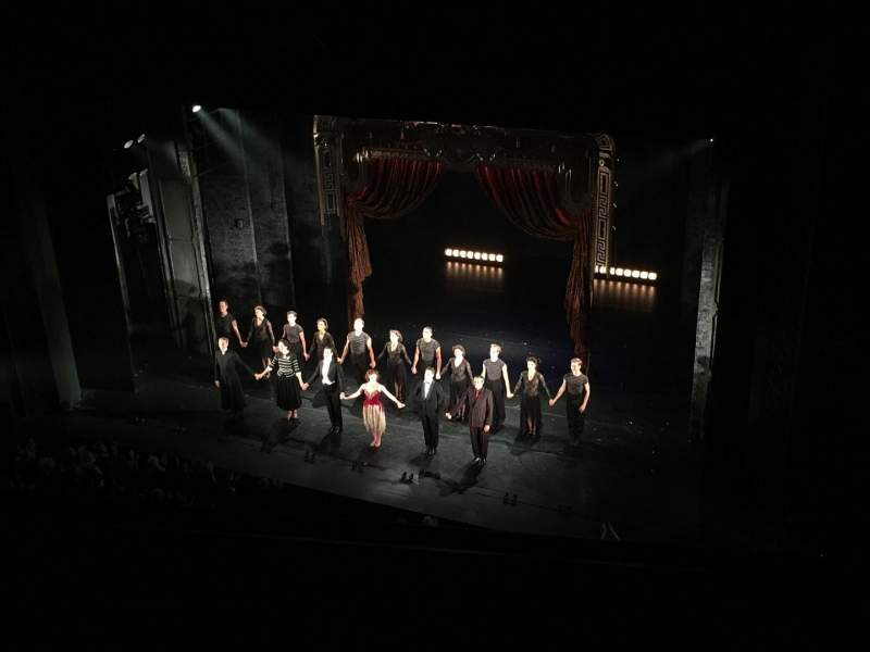 Seating view for New York City Center Section Balcony Row A Seat 140