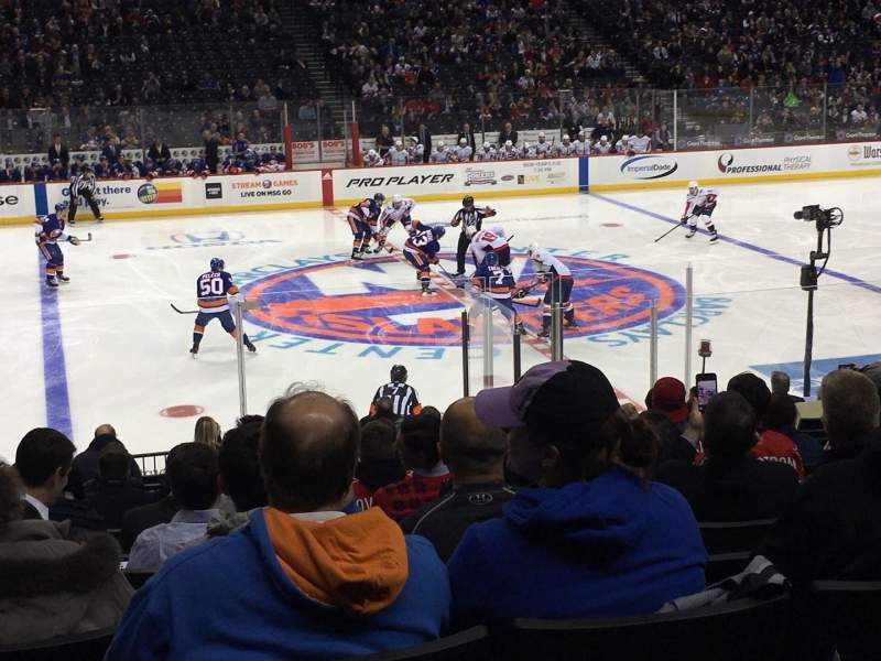 Seating view for Barclays Center Section 25 Row 16 Seat 16