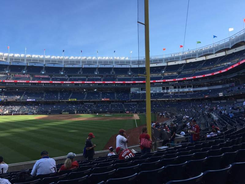Seating view for Yankee Stadium Section 132 Row 10 Seat 20