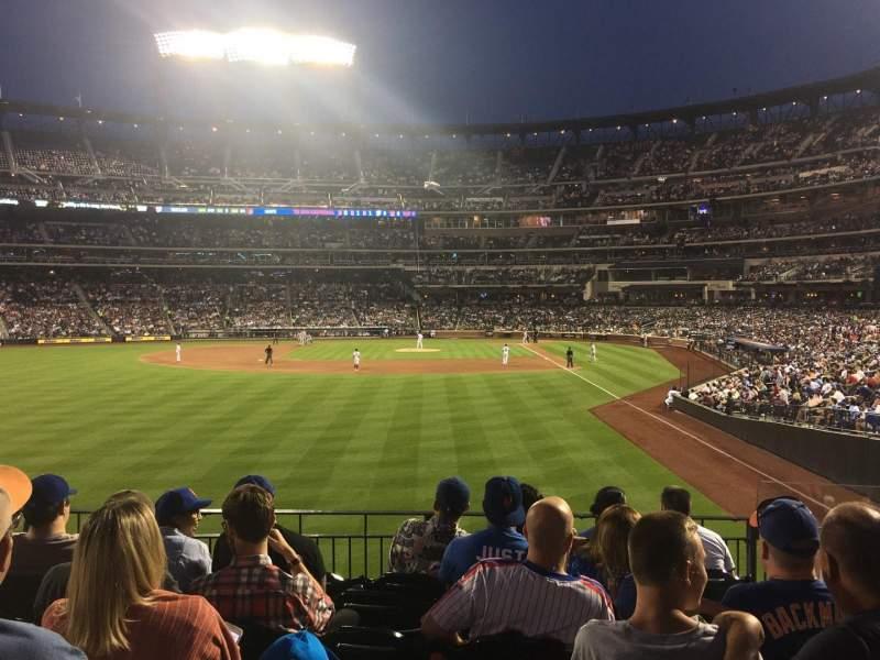 Citi Field, section: 134, row: 2, seat: 1