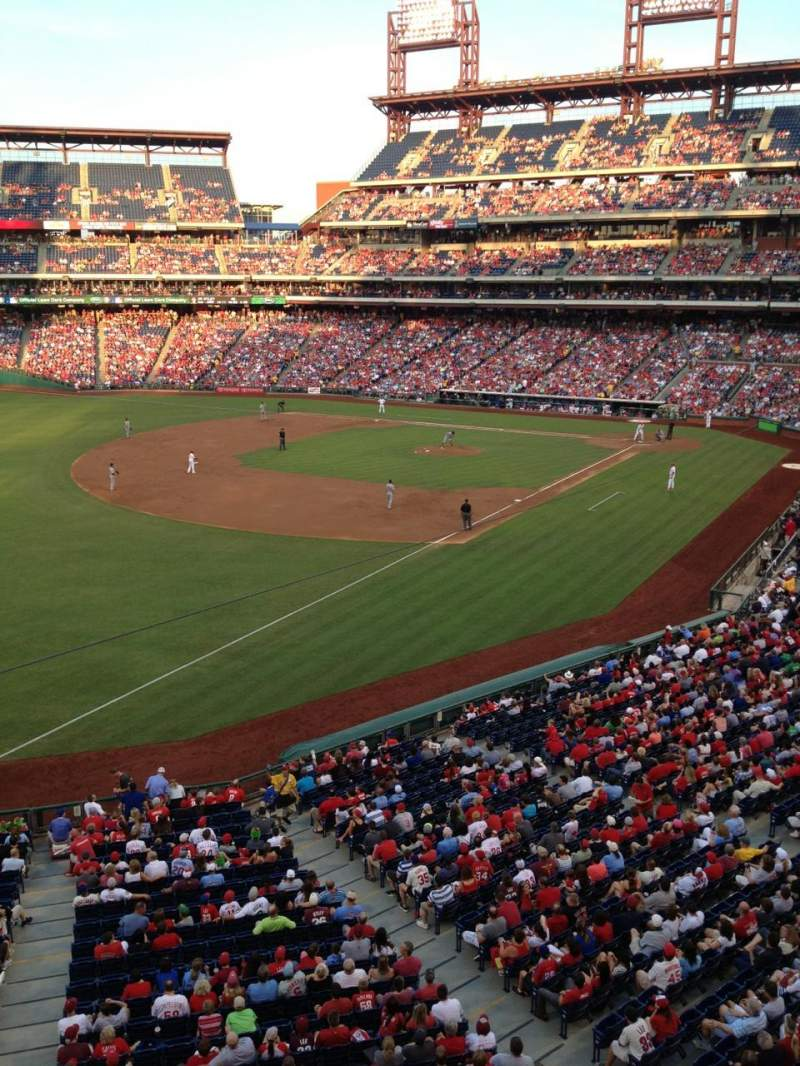 Seating view for Citizens Bank Park Section 235 Row 1 Seat 15