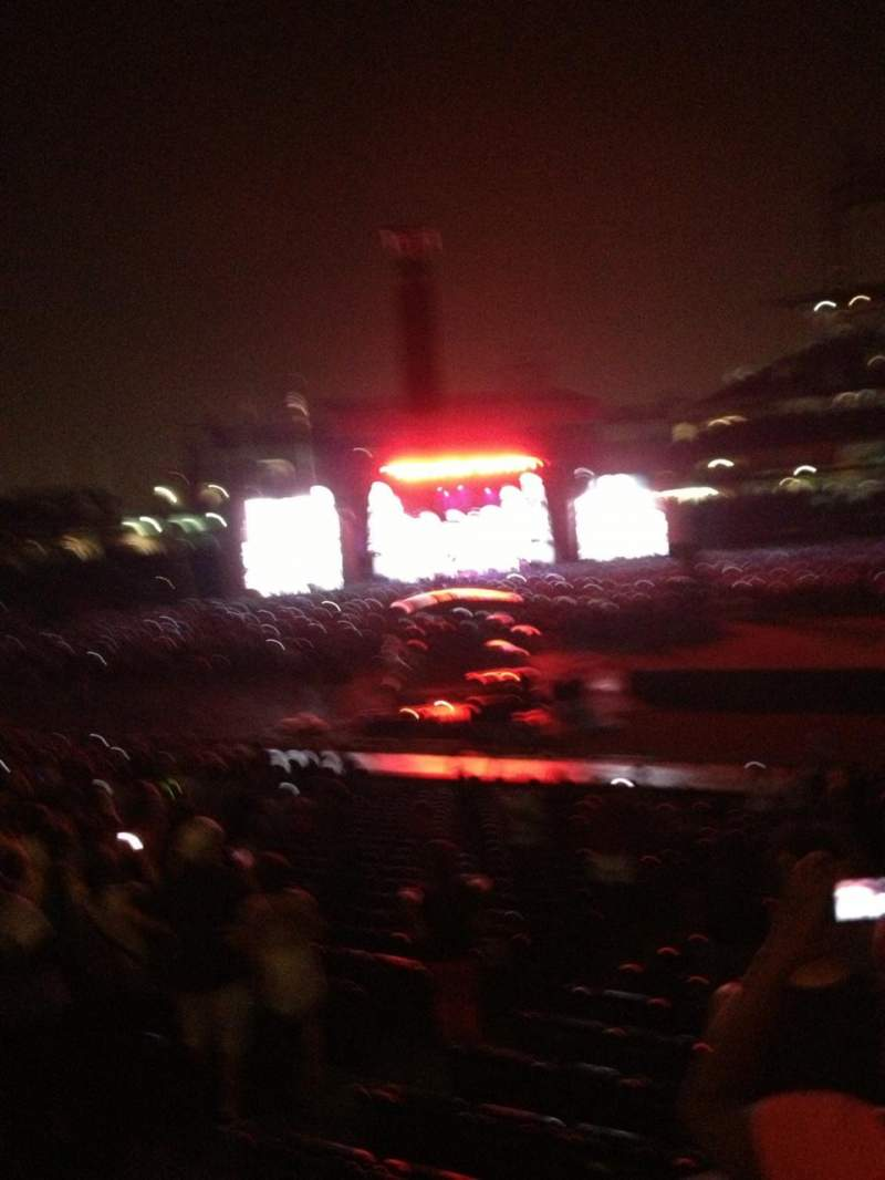 Seating view for Citizens Bank Park Section 130 Row 18 Seat 13