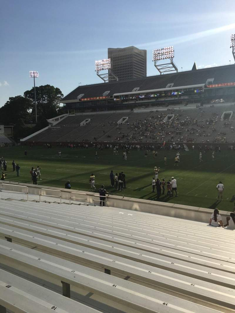 Seating view for Bobby Dodd Stadium Section 122 Row 22 Seat 21