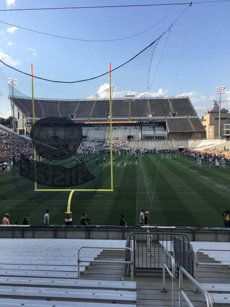 Bobby Dodd Stadium, section: 134, row: 22, seat: 33