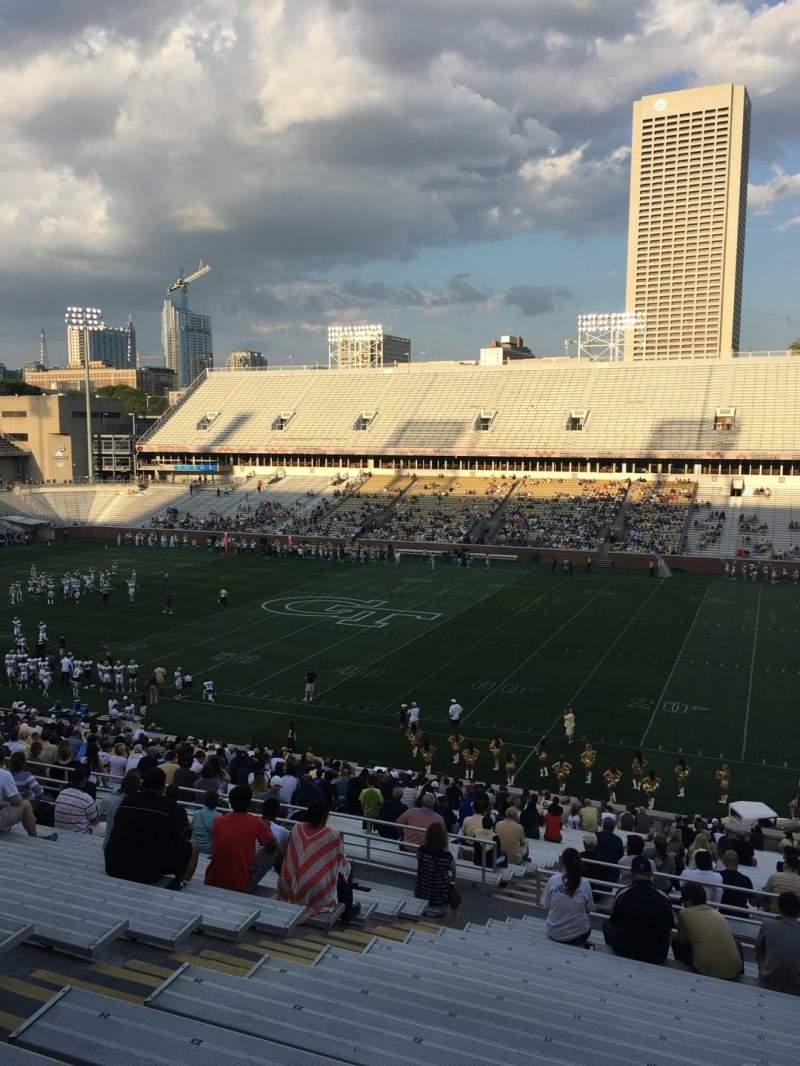 Bobby Dodd Stadium, section: 103, row: 44, seat: 19