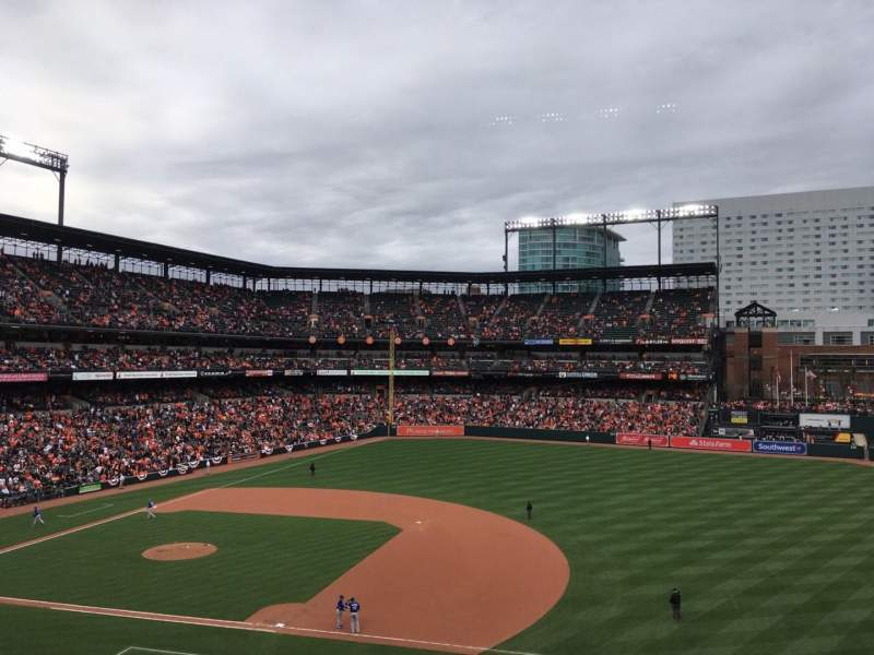 Seating view for Oriole Park at Camden Yards Section 216 Row 4 Seat 17