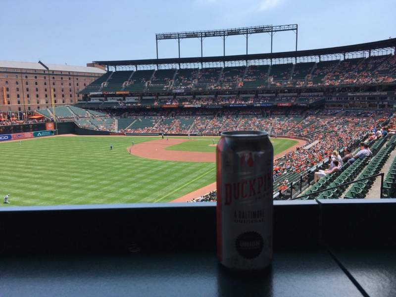 Seating view for Oriole Park at Camden Yards Section 270 Row A Seat 11