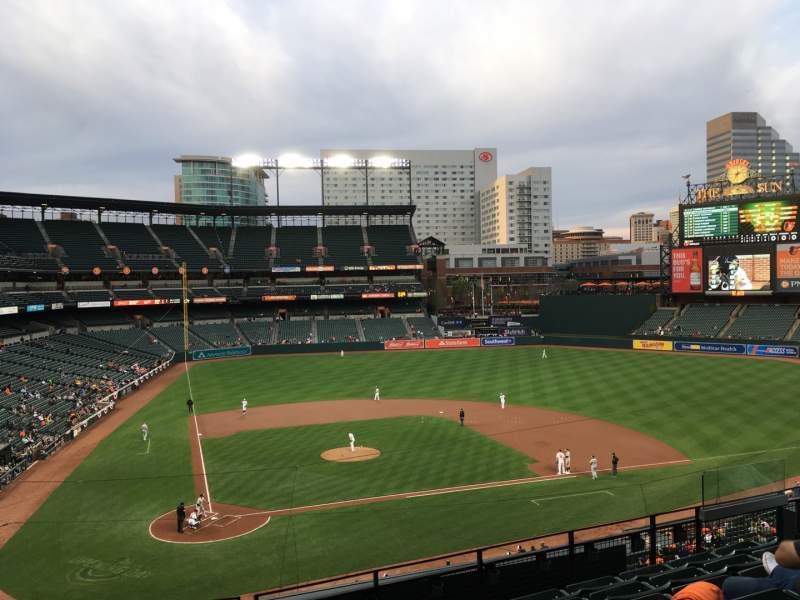 Seating view for Oriole Park at Camden Yards Section 228 Row 7 Seat 11