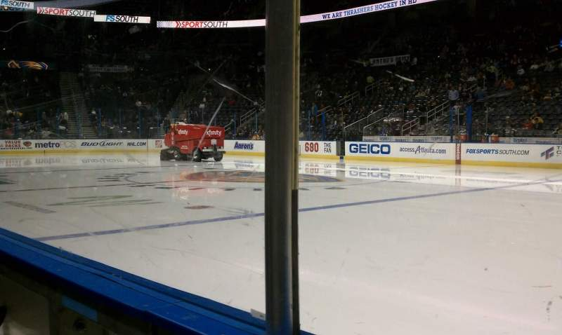 Seating view for State Farm Arena Section 103 Row a Seat 4
