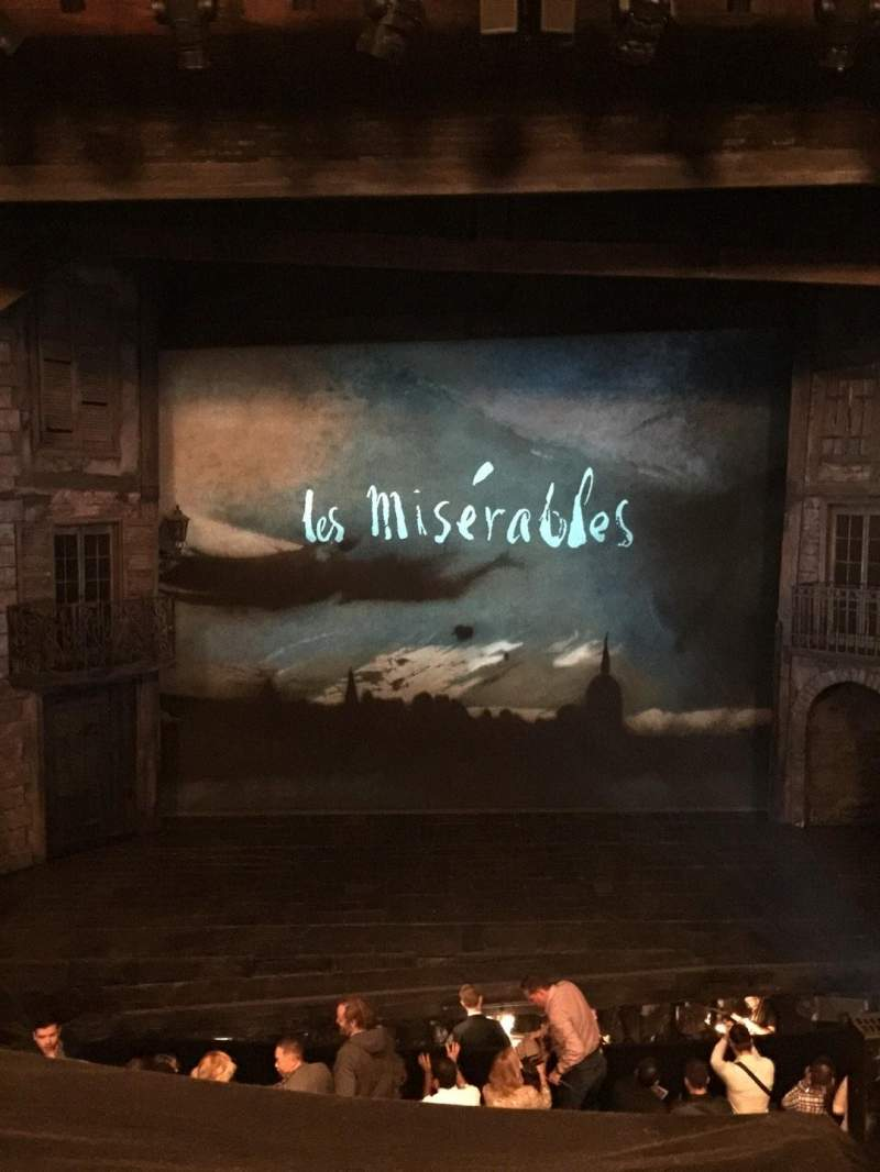 Seating view for Imperial Theatre Section FrtMez Row A Seat 1
