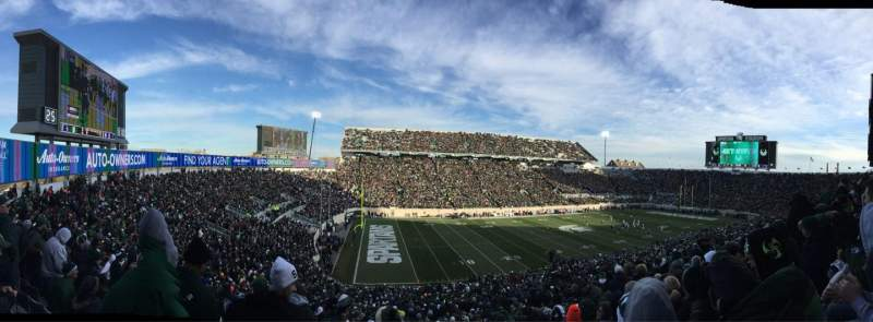 Seating view for Spartan Stadium Section 27 Row 55 Seat 3