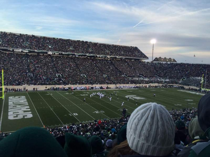 Seating view for Spartan Stadium Section 27 Row 55 Seat 4