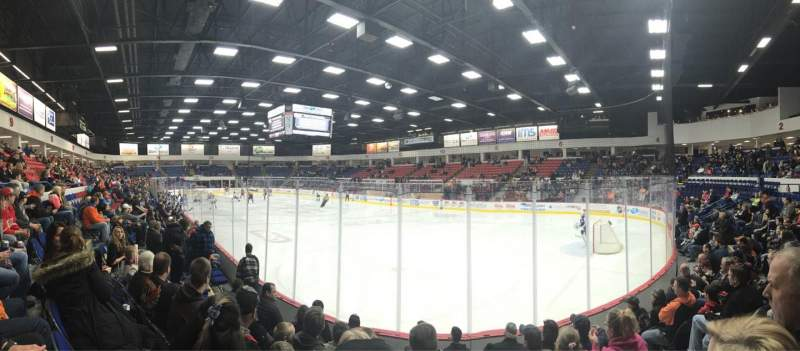 Seating view for Dort Federal Credit Union Event Center Section 5 Row F Seat 9