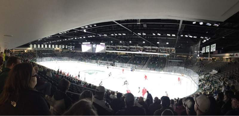 Seating view for Munn Ice Arena Section F Row 18 Seat 13