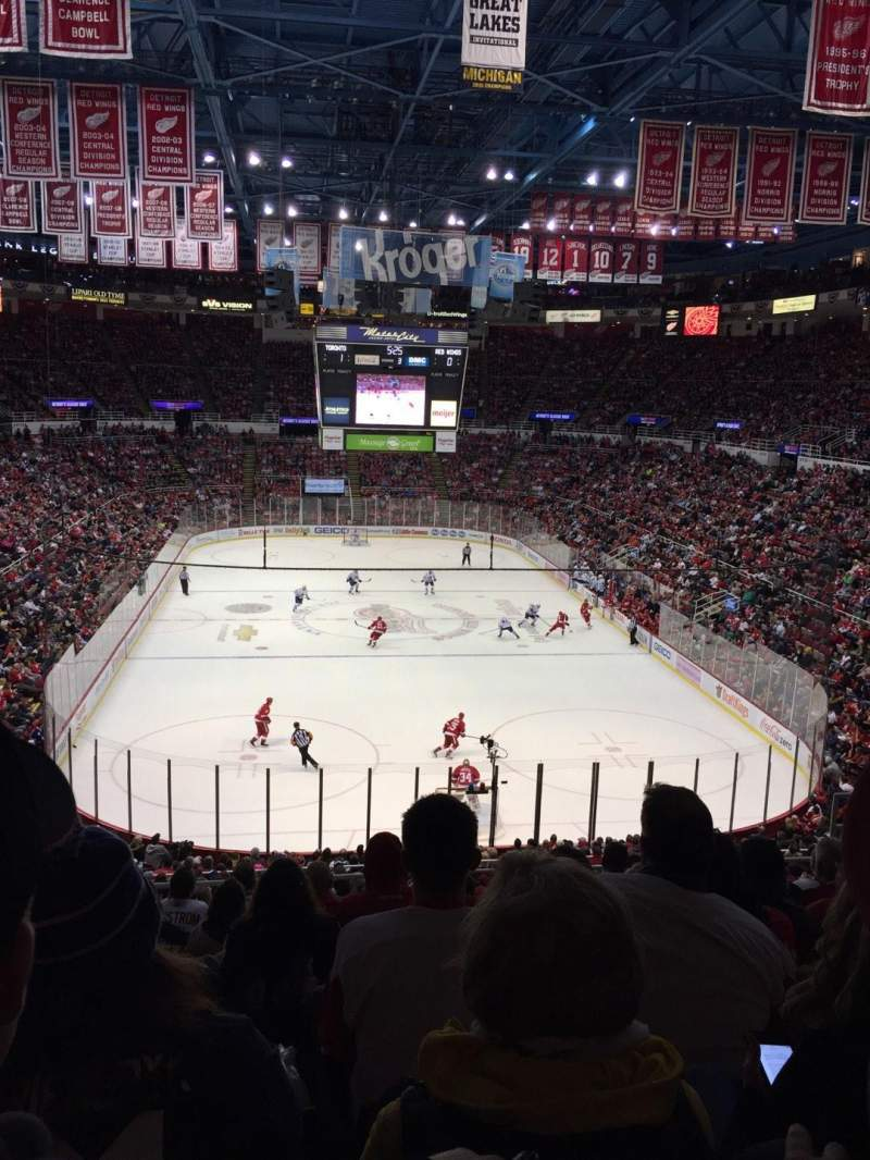 Seating view for Joe Louis Arena Section 201 Row 10