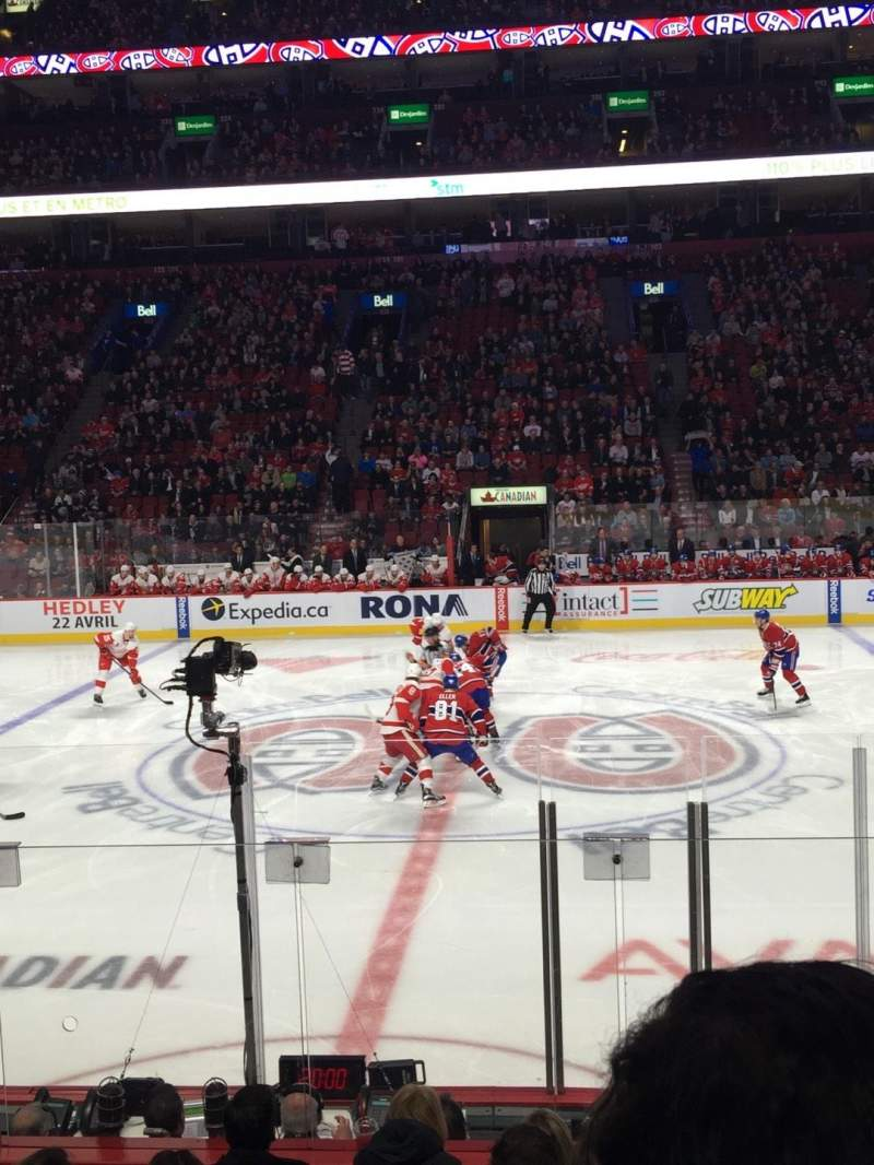 Seating view for Centre Bell Section 113 Row C Seat 6
