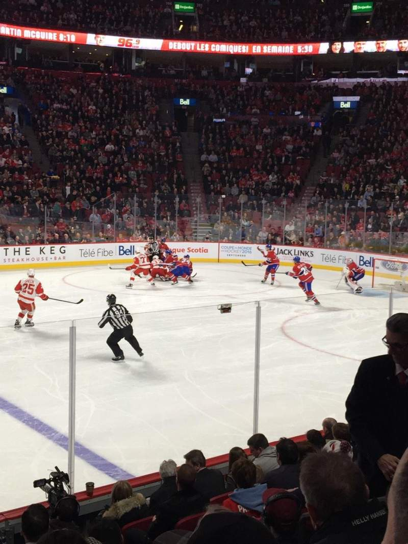 Centre Bell, section: 113, row: C, seat: 6