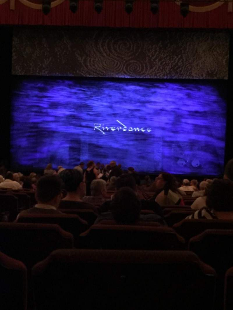 Seating view for Fox Theatre (Detroit) Section F4 Row AA Seat 401