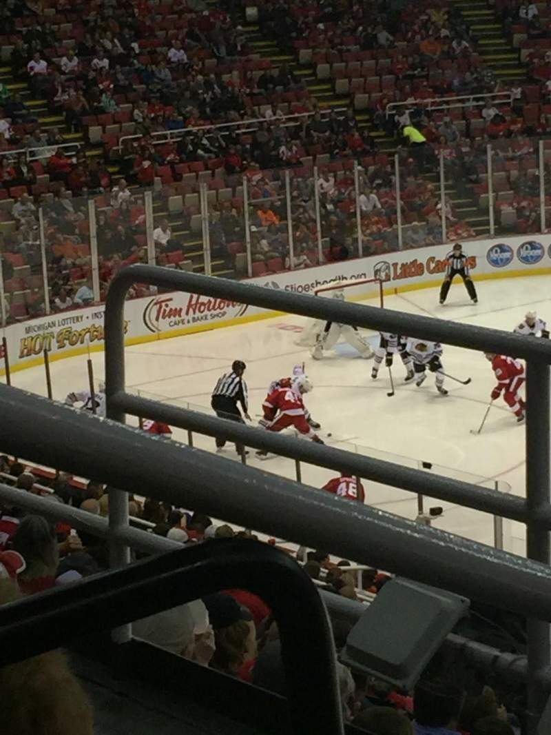 Seating view for Joe Louis Arena Section 220 Row 3 Seat 6