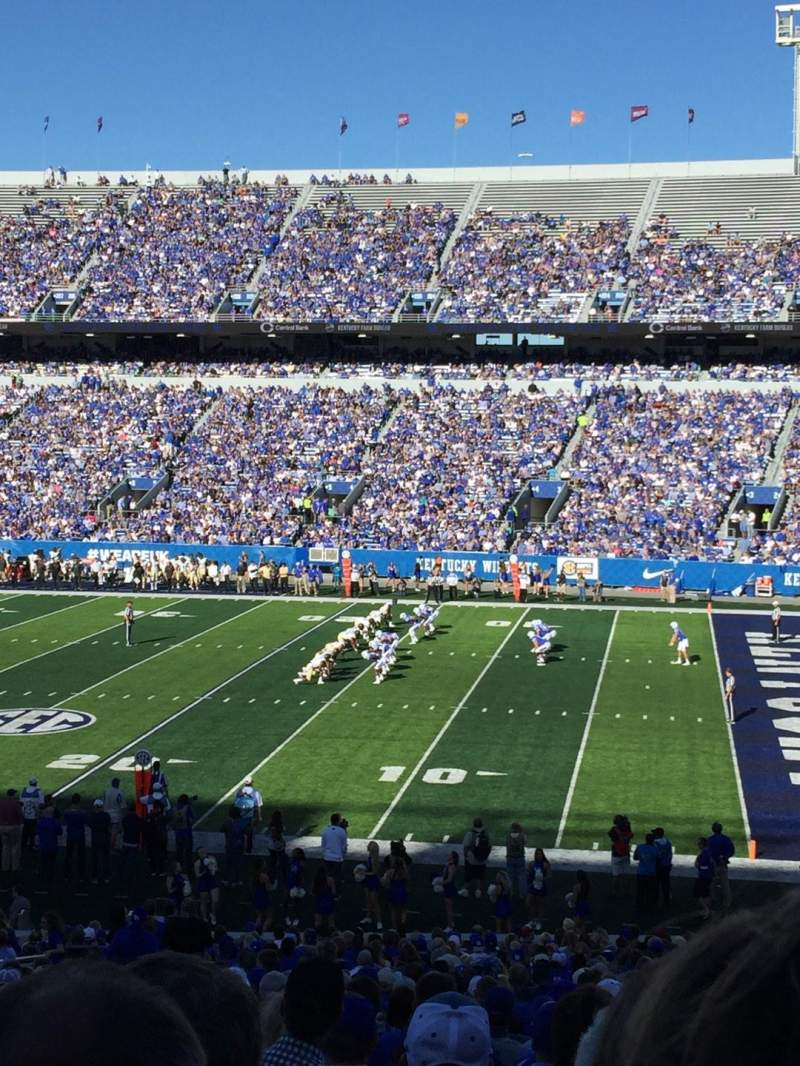 Kroger Field, section: 29, row: 39, seat: 14