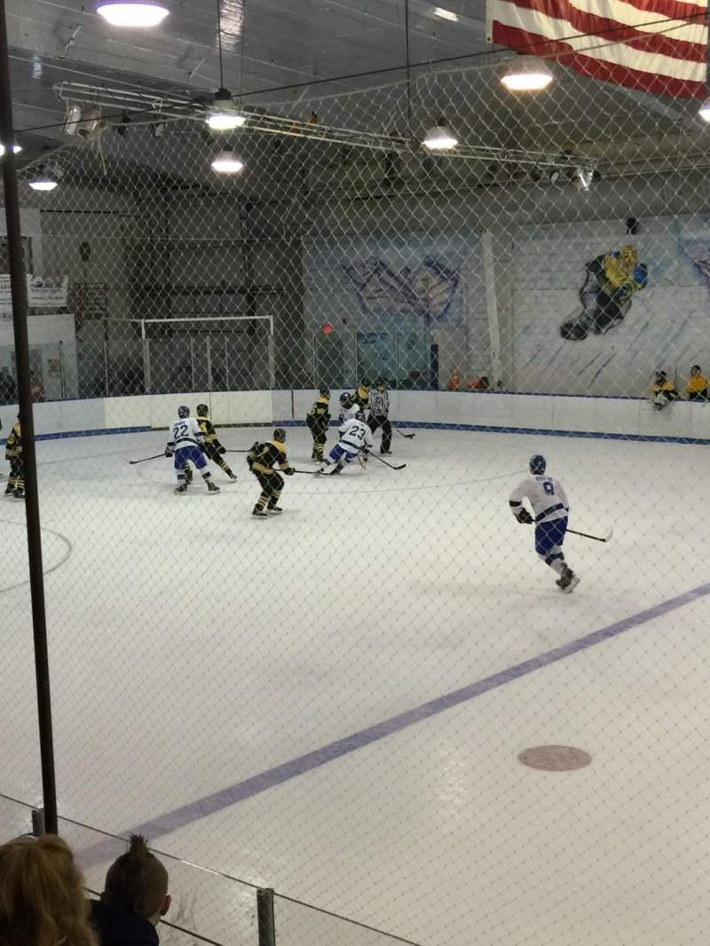 Seating view for Lexington Ice Center