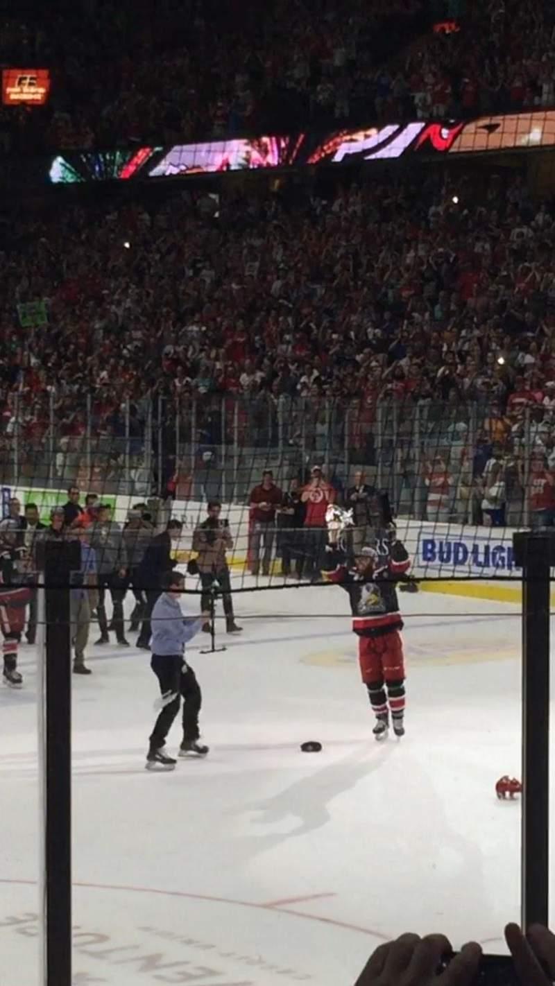 Van Andel Arena, section: 118, row: G, seat: 7