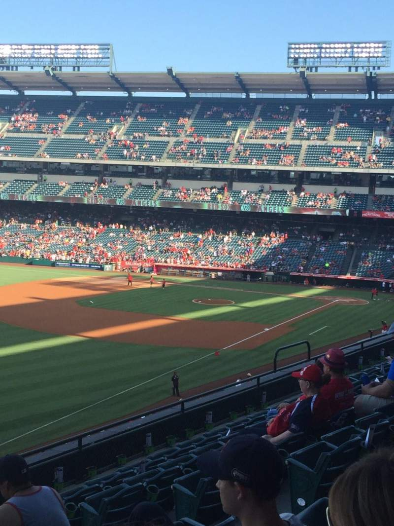 Seating view for Angel Stadium Section C306 Row G Seat 11