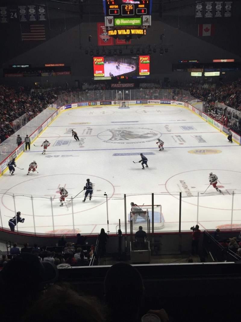 Van Andel Arena, section: 201, row: C, seat: 15